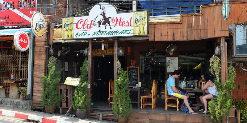 old west bar